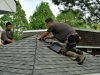 Shingle roof - in Progress